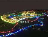 弥勒兴田工业园区规划沙盘