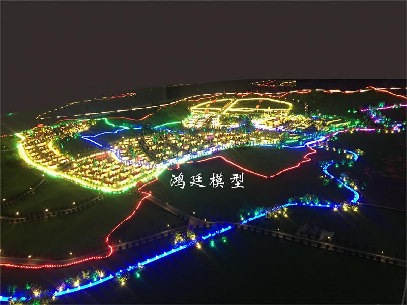 弥勒兴田工业园区规划沙盘2