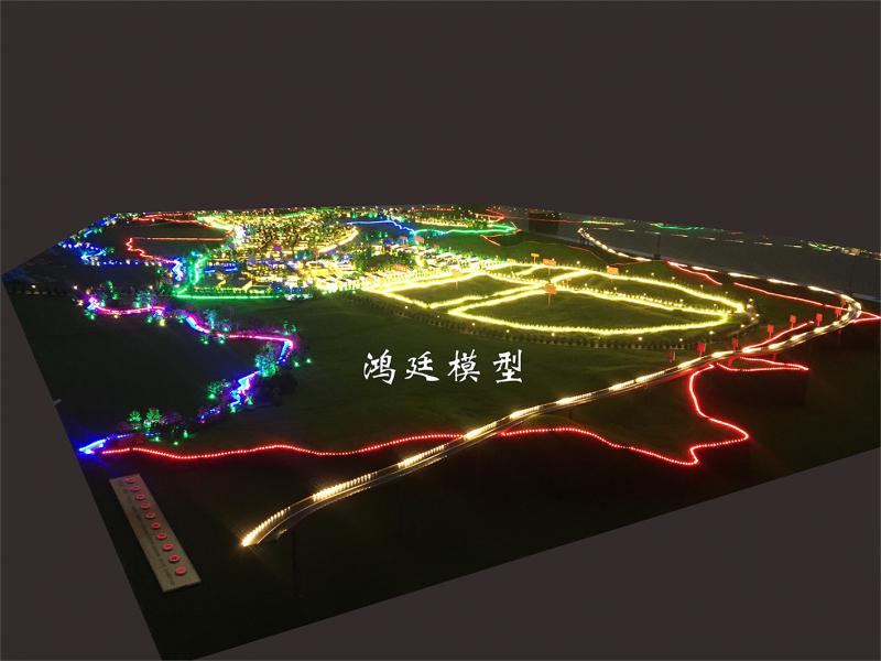弥勒兴田工业园区规划沙盘1