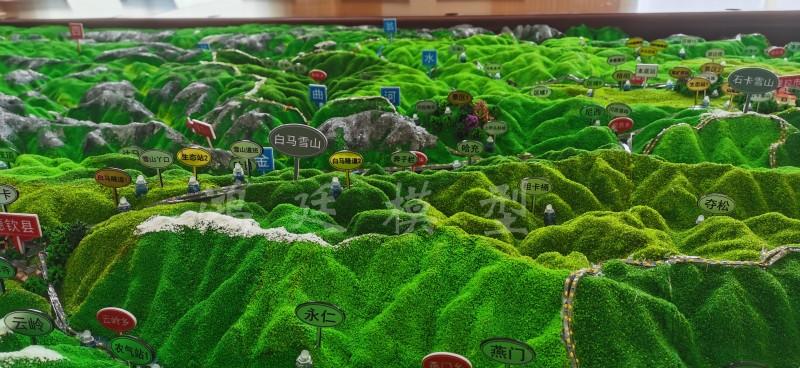 20200906迪庆州气象局地形地貌沙盘07