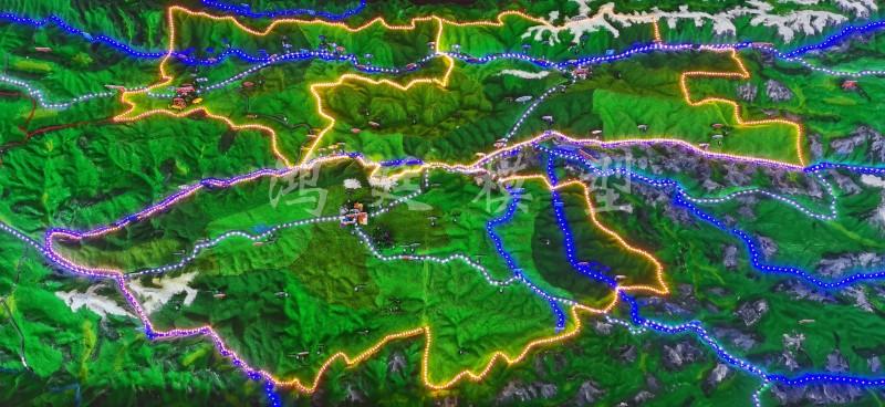 20200906迪庆州气象局地形地貌沙盘10